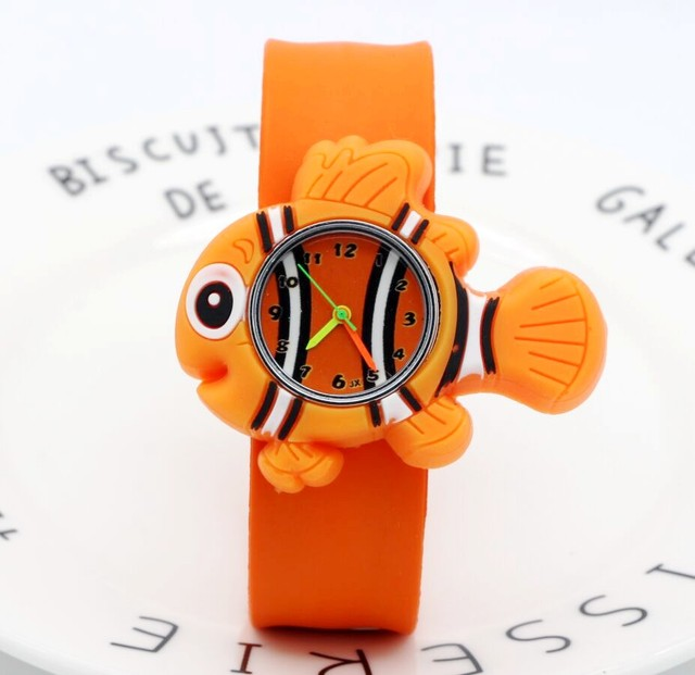 2018 Kids Watch Children Watch classic NIMO Spongebob Casual Fashion Cute Quartz