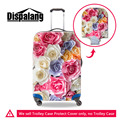Dispalang Rose Thick Elastic Travel Luggage Protective Covers For 18-30 Inch Trolley Case Flower Print Waterproof Suitcase Cover
