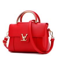 Women Messenger Bags Luxury Top Handle Bag PU Leather Shoulder Bags Small Bag Designer Famous Brand