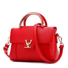 Luxury Handbags Women Bags Designer Famous Brand Small Bag Letter V Bag Loui Sac A Main Femme 2017 Bolsa Feminina Ladies Bag