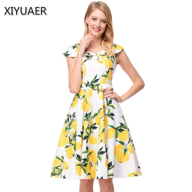 b7a274045c2d 2018 Summer Autumn New Women Casual Bohemian Floral Dress Sleeveless Vest  Printed Chiffon Women Dresses Plus Size XY619