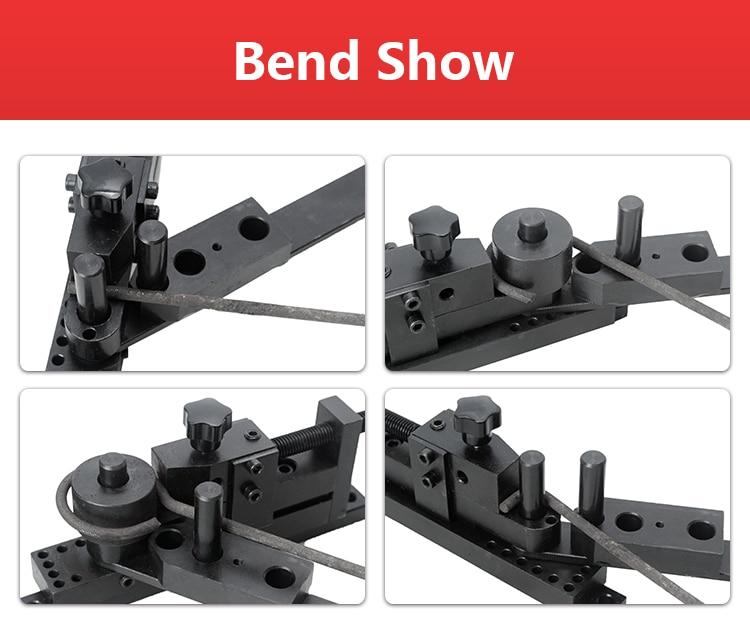 generation bending machine Manual Bender SIEG S N 20012 Bending machine Update Bend machine in Bending Machinery from Tools