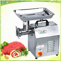 120kg/hour free shipping 220v electric CE stainless steel commerical frozen meat slicer meat cutting machine frozen meat cutter