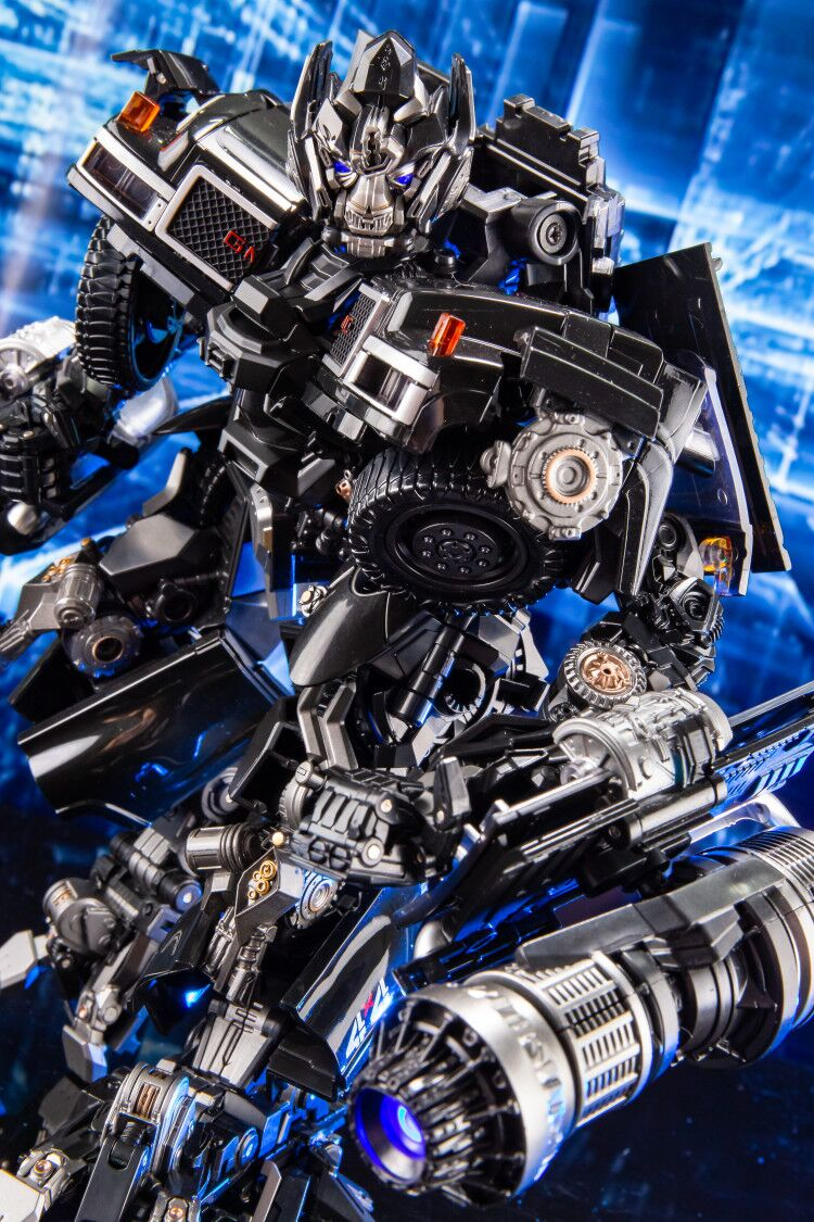 BMB Transformation ls09 ls 09 Ironhide MPM06 MPM 06 figura de acción del modo de camión de aleación experto de arma KO Robot juguetes No al por menor caja-in Figuras de juguete y acción from Juguetes y pasatiempos    2