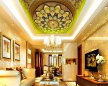 beibehang Custom Dream Wallpaper HD Continental Ceiling Zenith Ornate Decorative Background Wall papel de parede 3d wallpaper