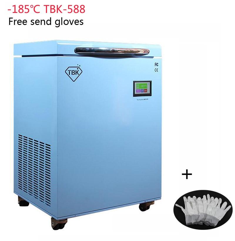 TBK-588 Congélation Machine Instruments LCD Écran Tactile Machine de Séparation-185C Congelés Séparateur Professionnel Masse Électrique Outils