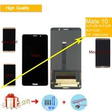 ORIGINAL LCD For HUAWEI MATE 10 LCD Display Touch Screen Digitizer Assembly For Mate10 ALP-L09 ALP-L29 LCD Complete Replacement все цены