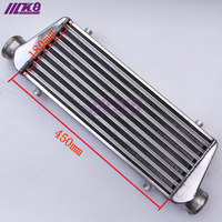 450*180*65mm universal turbo intercooler barra & placa od = 63mm frente montar intercooler
