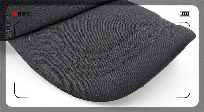 black trucker hat -1