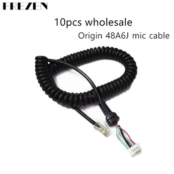 10pcs Replacement Mic Cable Cord Wire for YAESU MH-48A6J FT-7800 FT-8800 FT-8900 FT-7100M FT-2800M FT-8900R цена 2017