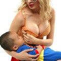 Новый бюстгальтер для кормления беременных женщин нижнее белье бюстгальтер с ободами открытой пряжкой перед кормлением, чтобы собрать против провисания Материнства мода