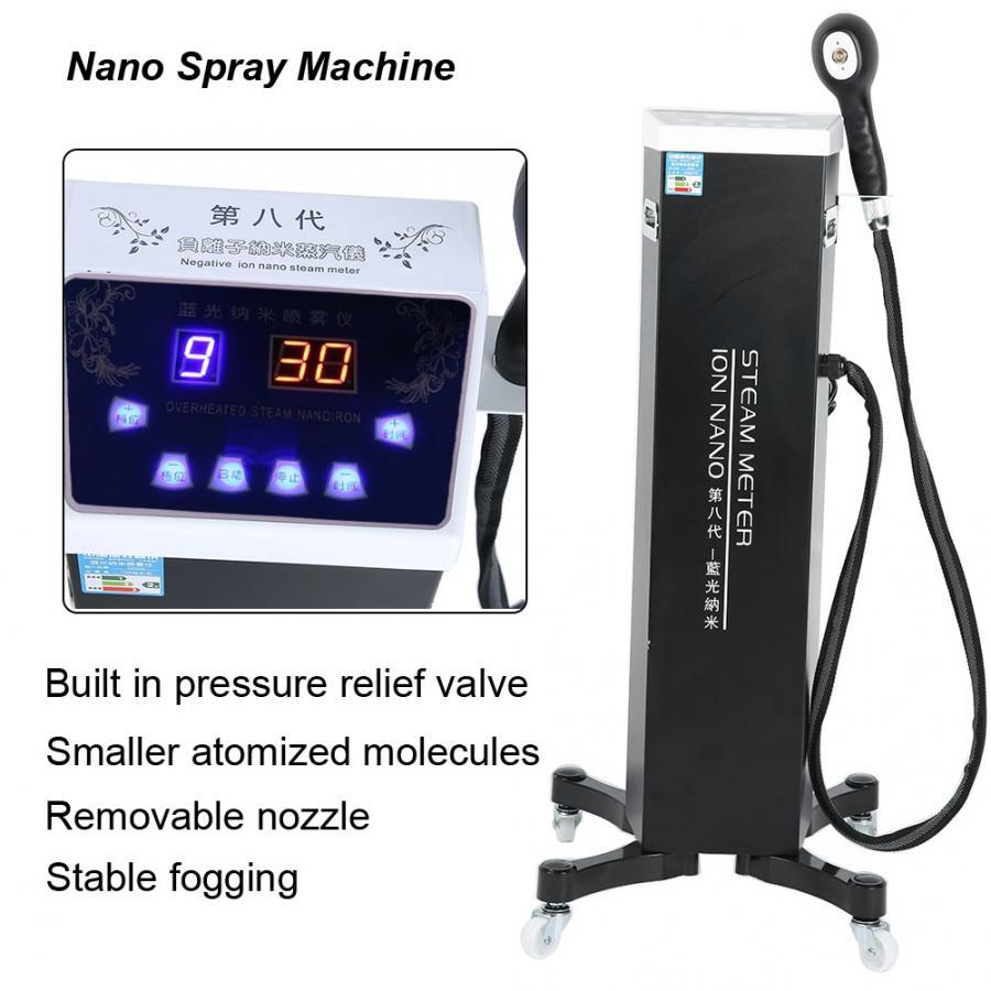 Image 5 - 3 типа нано гидратирующий распылитель для волос, уход за окрашиванием, синий светильник, Машинка для ухода за волосами bКрем для удаления волос    АлиЭкспресс