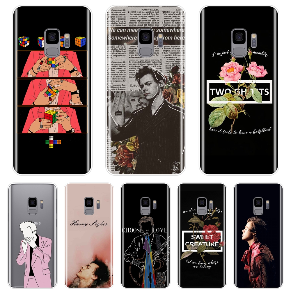 Men <font><b>Harry</b></font> <font><b>Styles</b></font> Back Cover For <font><b>Samsung</b></font> Galaxy S8 S9 Plus <font><b>S5</b></font> S6 S7 Edge Soft Silicone <font><b>Phone</b></font> <font><b>Case</b></font> For <font><b>Samsung</b></font> Galaxy Note 4 5 8 9 image