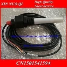 CE electrodo sensor conductividad electrodo sensor de conductividad platino negro conductividad medidor, compensati de temperatura