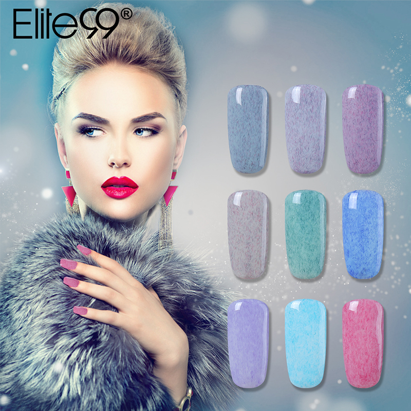 Elite99 7ml Uv Gel Polish Long Lasting Faux Fur Nail Polish Gel Lak