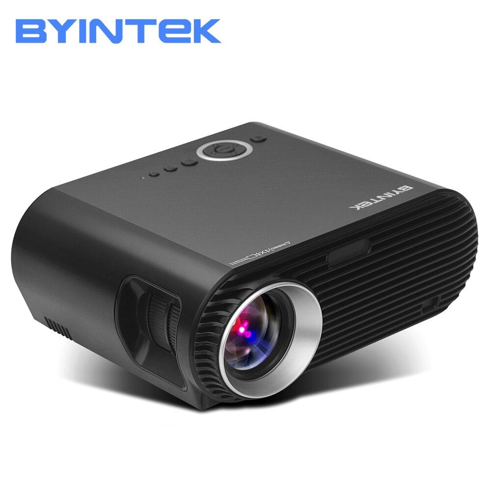 BYINTEK Marque BL127 1280x800 Film Cinéma Jeu USB HDMI fulL hD LCD LED Vidéo Projecteur Pour 1080 p home Cinéma Parti