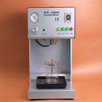 Variable Speed Dental Lab Equipment AX 2000B Vacuum Mixer with Built in Vacuum Pump with CE Certificate