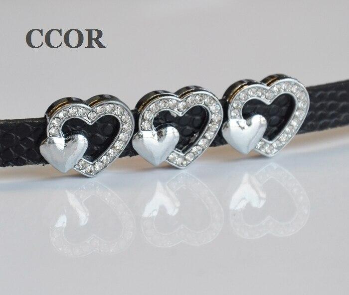 CCOR 5pcs DIY accessory zinc alloy 8mm Inner Dia  17MM*14MM