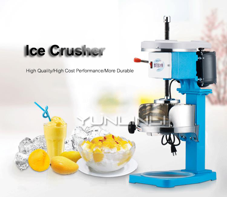 Commercial Ice Crusher Electric Ice Crushing Machine Cocktail Ice Shaver 220V maxion cp 808