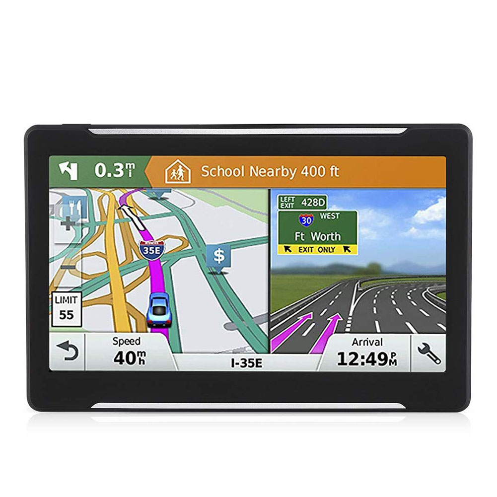 7 Inch Practical Screen Car GPS Vehicle Portable Rechargeable Voice Guide HD Map Accessories Satellite Truck Navigator