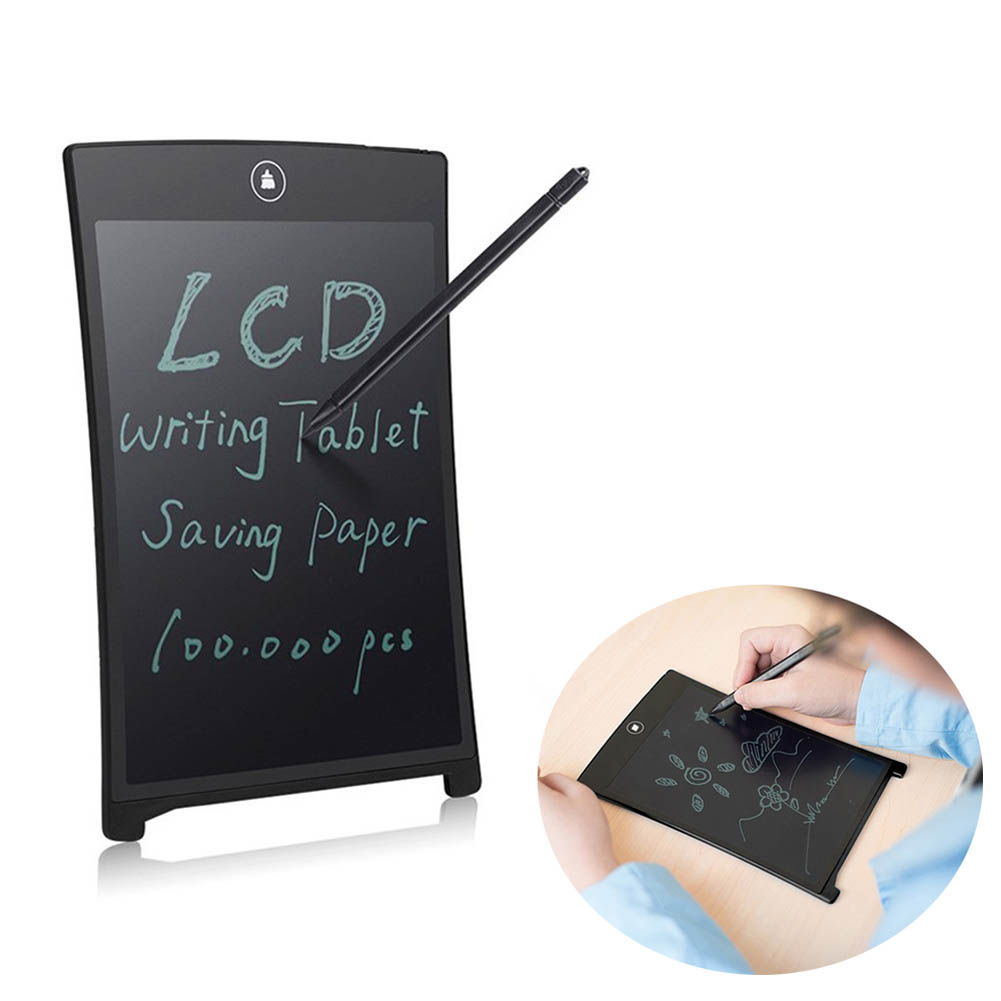 New Portable 8.5 Inch LCD Writing Tablet Digital Drawing Tablet Handwriting Pads Electronic Tablet Board+ Stylus Pen EM88 a portable electronic tablet board 8 5 inch lcd writing pad tablets digital drawing tablets handwriting pads tablet pc accessor