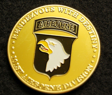 Hot sales US custom coin  low price ARMY Challenge Coin PARATROOPER high Quality FH810220
