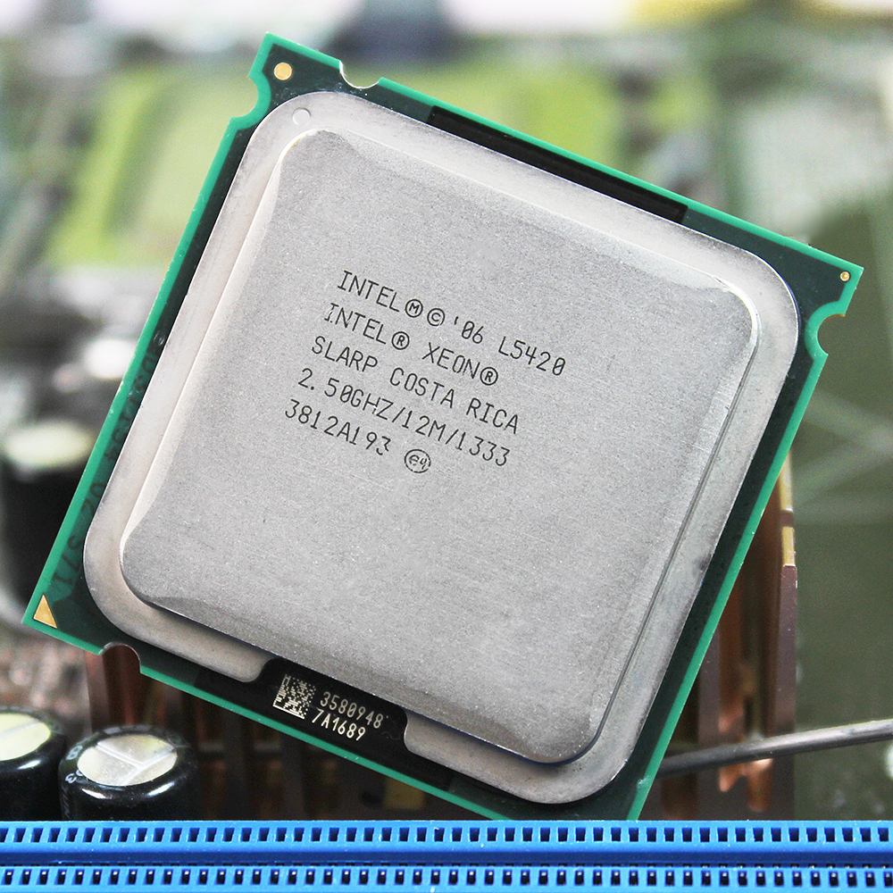 Intel Xeon L5420 LGA 775 CPU 771 To 775CPU/2.5GHz /LGA771/L2 Cache 12MB/Quad-Core/)