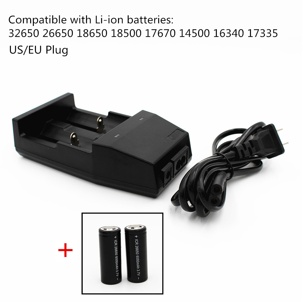 Universal Lithium battery Charger for 32650 26650 18650 18500 17670 14500 16340 17335 Rechargeable 3.7V Li-ion batteries EU/US nitecore i2 multi function battery charger for 26650 22650 18650 17670 aa more black