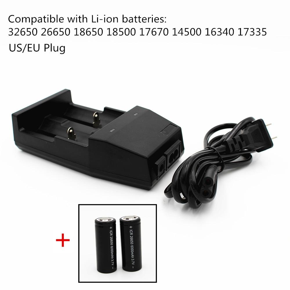 все цены на  Universal Lithium battery Charger for 32650 26650 18650 18500 17670 14500 16340 17335 Rechargeable 3.7V Li-ion batteries EU/US  онлайн