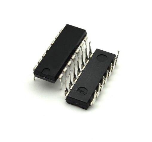 5pcs/lot SN74HC20N HD74HC20P 74HC20AP 74HC20 DIP-14