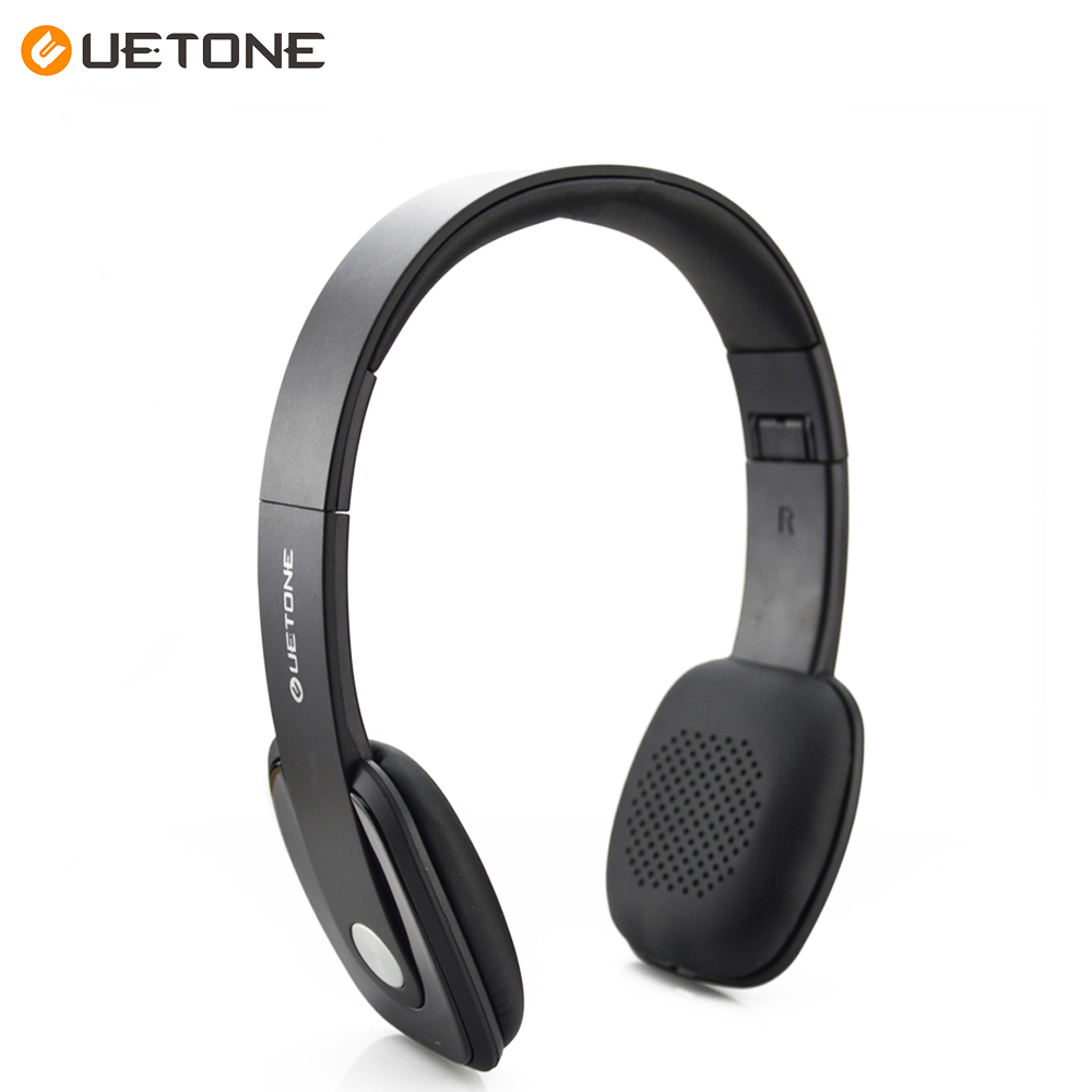 Uetone UT H02 Wireless Sports Bluetooth Stereo Lightweight Headphones SD Card With MIC Music Universal Earphone