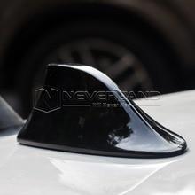 Black Car Aerial GPS decorative Dummy Fin Roof Shark Antenna Spoiler Universal 1pc Free Shipping
