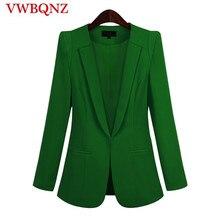 6f19a203714 2018 Venta caliente negro mujer Blazers y chaquetas nueva primavera otoño  Casual Oficina mujeres trajes Slim