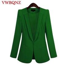 b9fe82e2f 2018 Venta caliente negro mujer Blazers y chaquetas nueva primavera otoño  Casual Oficina mujeres trajes Slim