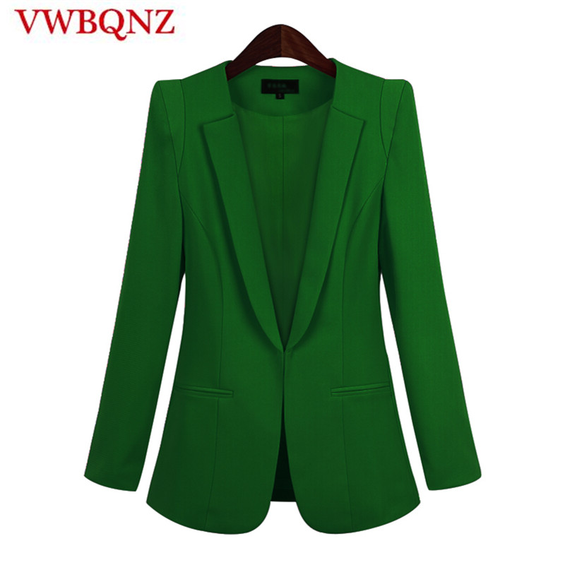 2019 Hot Sale Black Women Blazers And Jackets New Spring Autumn Casual Office Women Suits Slim Solid Female Jacket Plus Size 5XL