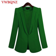 2019 Hot Sale Black Women Blazers And Jackets New Spring Autumn Casual Office Wo