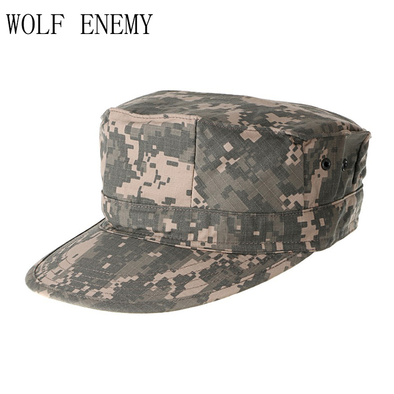 ACU CP Desert Woodland Digitaalinen Multicam Military Caps Armeija Camouflage Marines Hatut Sun Fishing Tactical Combat Paintball Caps