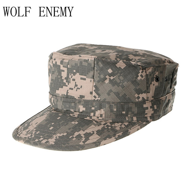 0fd07c02754 ACU CP Desert Woodland Digital Multicam Military Caps Army Camouflage  Marines Hats Sun Fishing Tactical Combat Paintball Caps