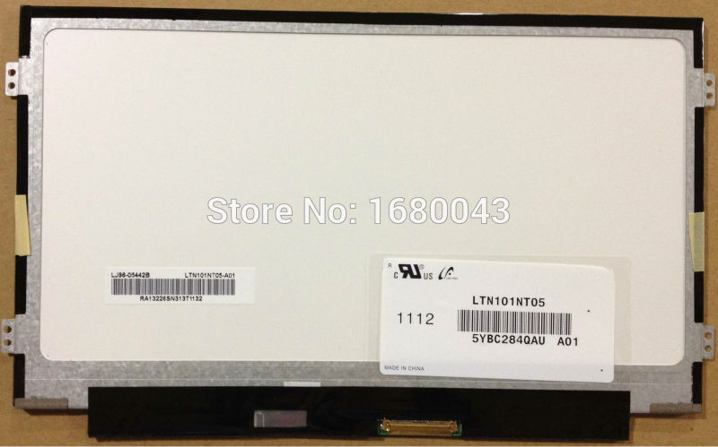 LTN101NT05 fit LTN101NT08 B101AW06 V.1 B101AW06 N101L6 HSD101PFW4 1024X600 SLIM free shipping ba101ws1 100 ba101ws1 b101aw06 v 1 n101l6 l0d ltn101nt08 10 1inch led display laptop screen