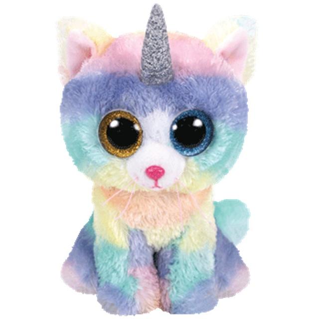 a3e29060143 Ty Beanie Boo Cinder Saffire Darla Dragon Lion Lamp CatPenguin Owl Pig  Unicorn Wolf Fox Dog Plush Toy Doll Stuffed Animal