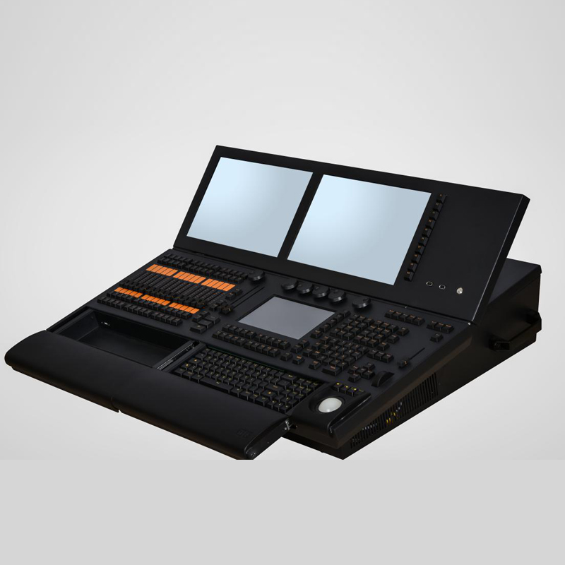 Più nuovo MA2 DMX Console con Tre schermi Potente funzione di controller Professionale