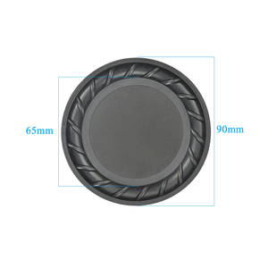 Image 3 - Aiyima 2PC 90MM 64MM Rubber Passive Radiator Speaker Bass Vibration Membrane Diaphragm Auxiliary Subwoofer DIY