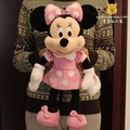 Original Minnie Mouse toy 50cm Minnie plush toy pink cute stuffed animals Mickey Mouse girl friend Minnie toys for children