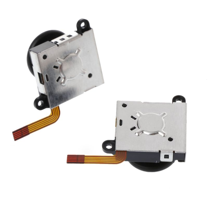 3D Analog Joystick Switch Thumb Stick Controller Module Sensor Potentiometer Repair Tool Replacement Black For Nintend Switch