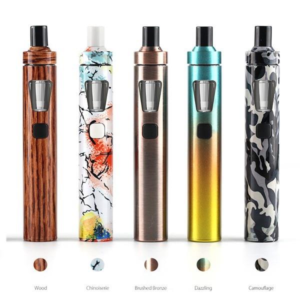 NEUE farbe Joyetech eGo AIO Kit 1500 mah batterie elektronische zigarette starter vaper 2 ml tank BF SS316 VS eleaf ijust 2