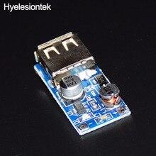 DC DC Intensificar Conversor USB 0.9 V ~ 5 V para 5 V 600MA DC Reforço de Mini Fonte de alimentação DC de Saída do Conversor Carregador MP3 MP4 Telefone Circuito