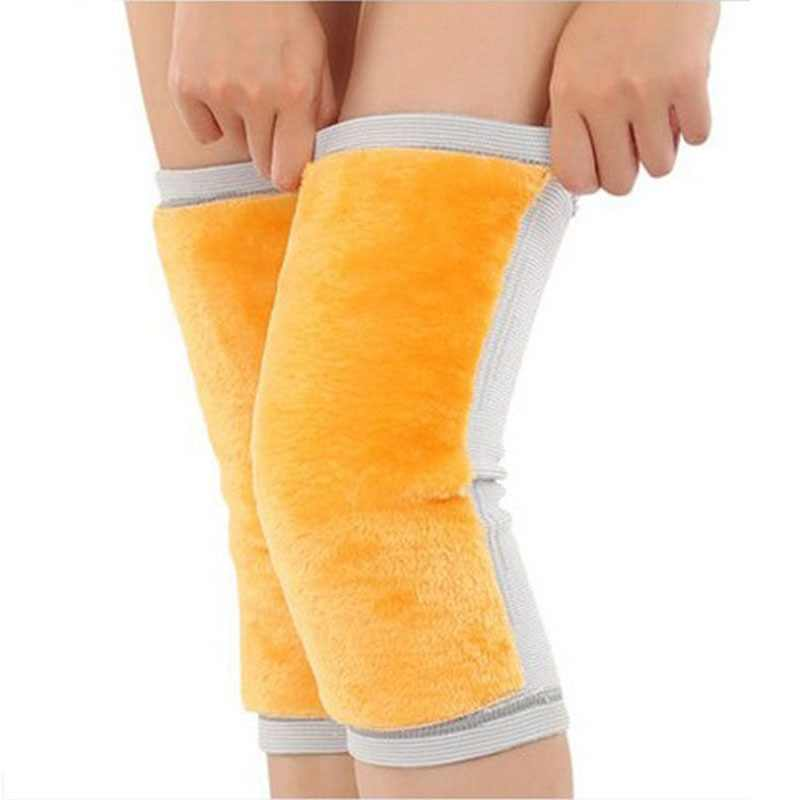 1 Pcs Anti Cold Knee Pads Plus Gold Velvet Prevent Arthritis Keep Warm Knee Protector Support Breathable Thickening Kneepad