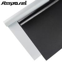 45*200cm Household No Glue Electrostatic Film Glass Window Insulation Film Window Stickers Sun Shade UV Rejection FT