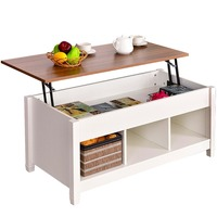 Lift Top Coffee Table Modern Furniture Hidden Compartment Dropshipping
