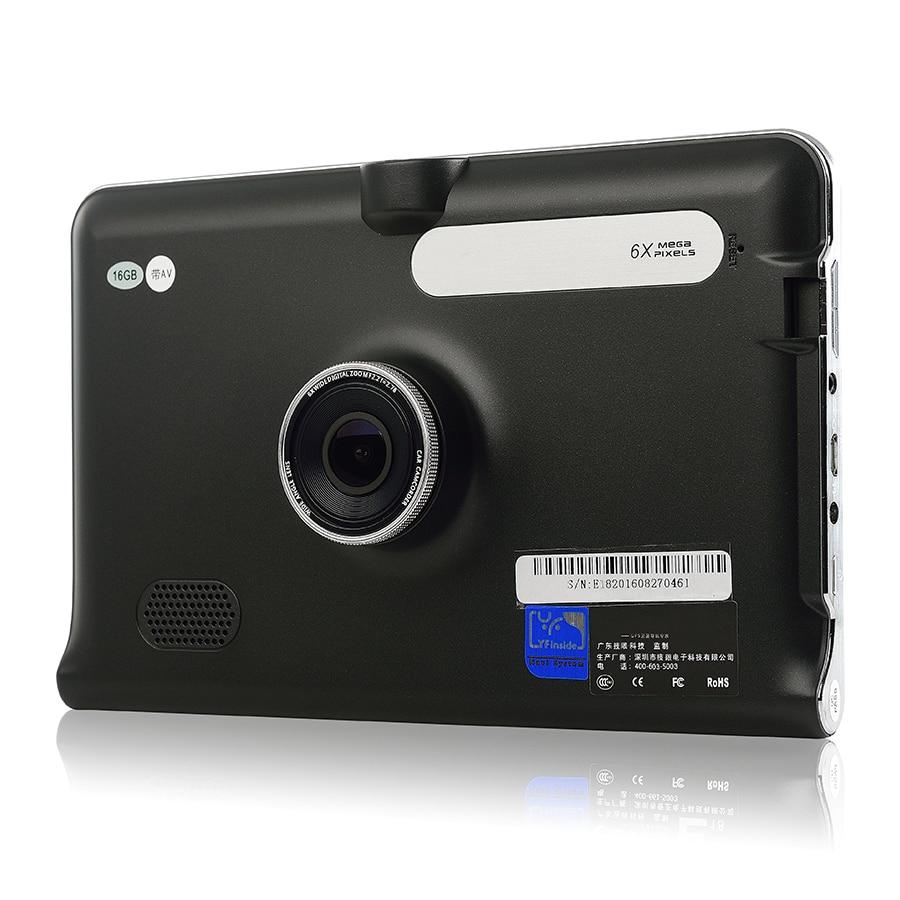 Udricare 7 inch GPS Android WiFi Car Truck GPS Navigation DVR Video Recorder FM Transmit I